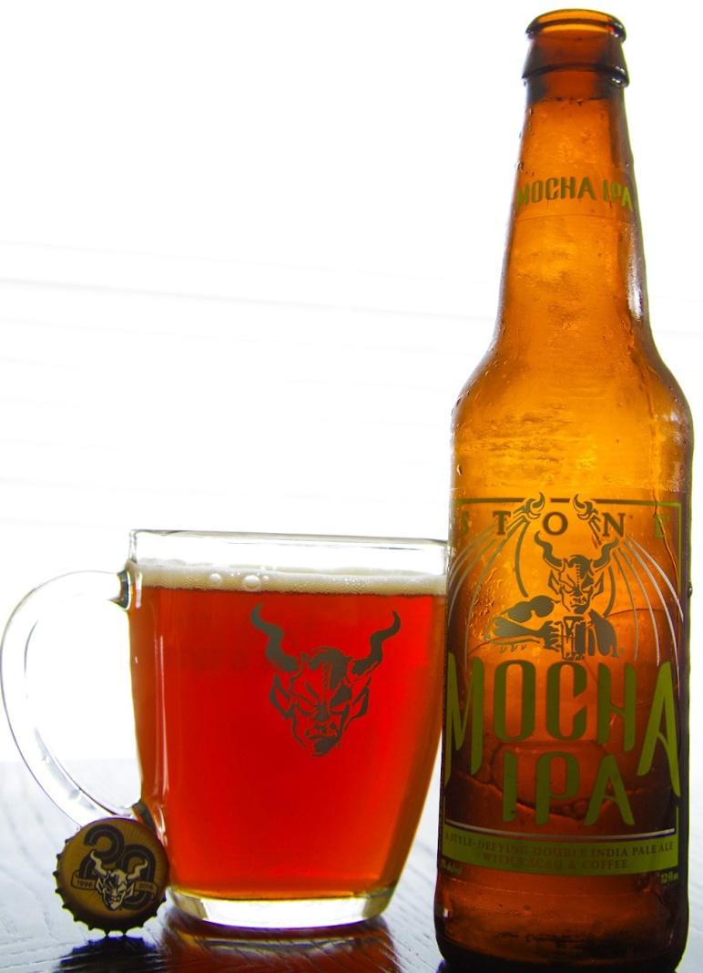 tasting notes: stone mocha ipa from stone brewing co. | mashing in, Moderne deko