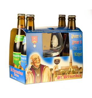 For the Belgian Beer Fan: St. Bernardus Gift Set