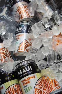 Maui Brewing Co. (Kihei, Hawaii) brought the Aloha spirit to the trade show.