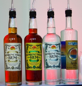 Key West Distilling (Key West, Florida) broke out a full array of rums along with their Spyglass Vodka.