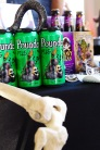 Beyond their delicious brews, Heavy Seas Beer (Baltimore, Maryland) came to the trade show prepared with a full-sized skeleton and hook for their display.