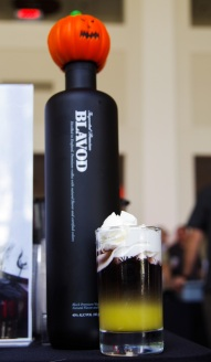 Blavod, the original Black Vodka, was on hand to create beautiful and inventive cocktails for attendees.