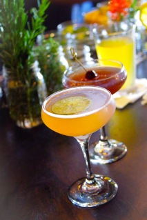 Pisco Punch was a popular selection on our end of the bar.