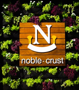 The Noble Crust impresses before you even walk through the door.