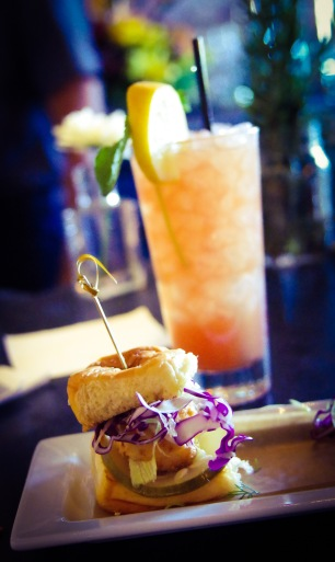 The Crispy Grouper Sliders are both beautiful and delicious.