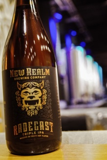 Radegast Triple IPA will also be available in 750ml. This one-time release will commemorate the brewery's grand opening. Keep an eye on New Realm's social media accounts for release details.