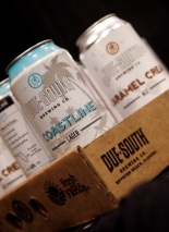 Due South Brewing Co. introduced attendees to their new 16 oz. cans.