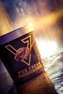 The beautiful people at Vice Cream helped us close out the night in proper fashion with some Afternoon Delight ice cream.