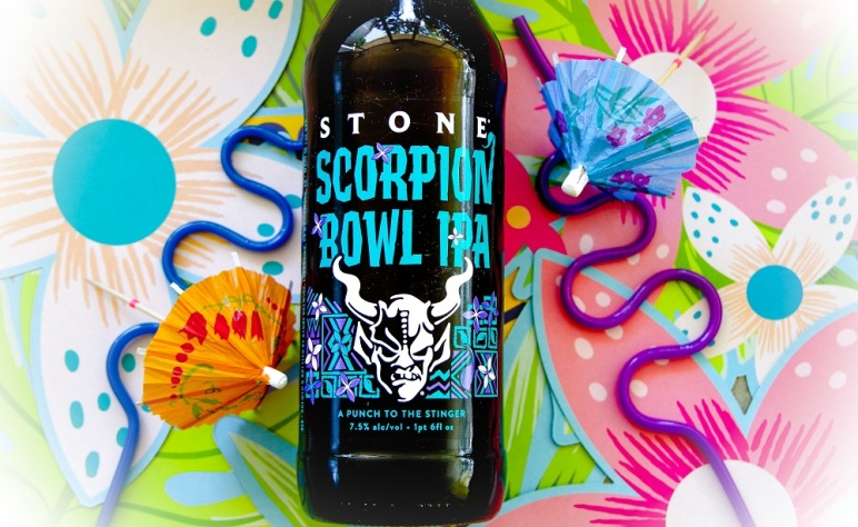 tasting notes stone scorpion bowl ipa from stone brewing mashing in