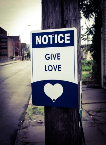 For Good PGH, founders of The Hollander Project, also place inspirational signs throughout Braddock.