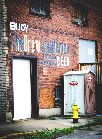 Several blocks away, a building that nearly became the home of Brew Gentlemen still bears its name.