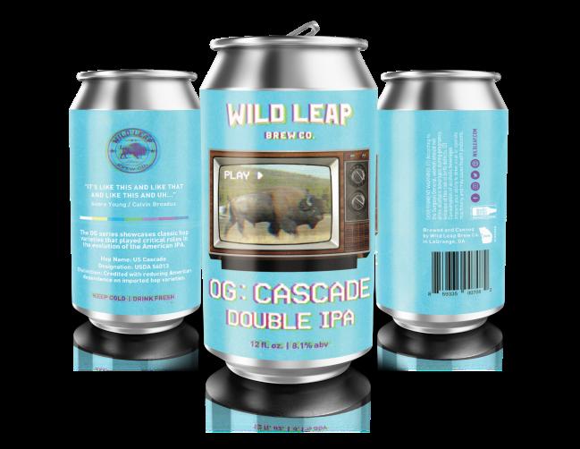 Wild Leap OG Series_ Cascade Double IPA 2