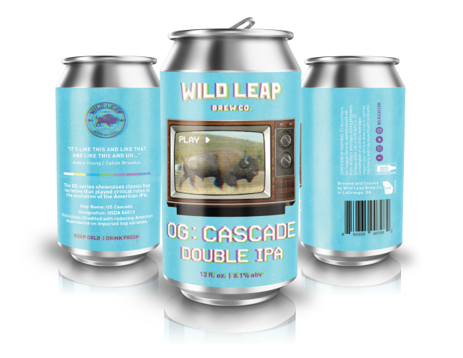 Wild Leap OG Series_ Cascade Double IPA 2
