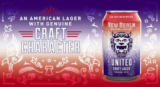 New Realm Brewing Adds United Craft Lager to Year-Round