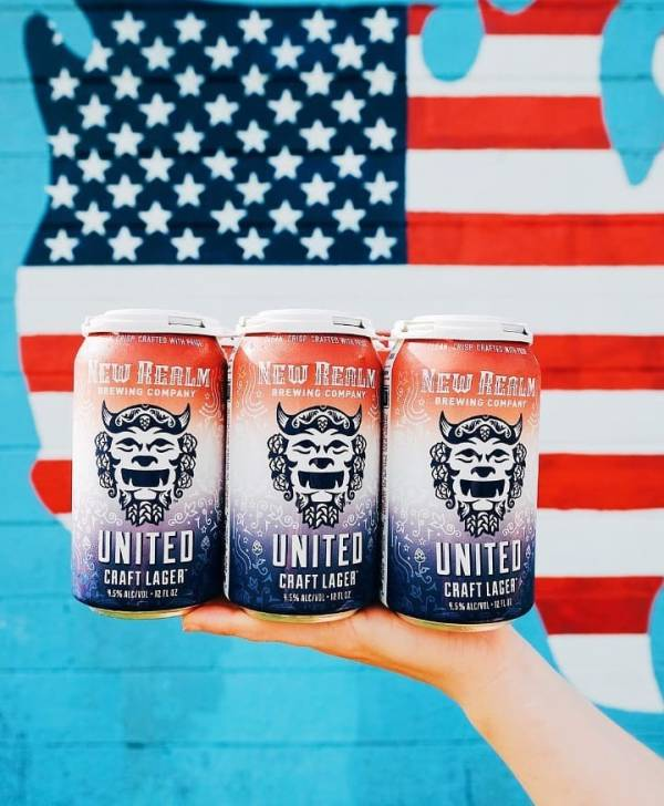 New Realm Brewing Adds United Craft Lager to Year-Round Portfolio