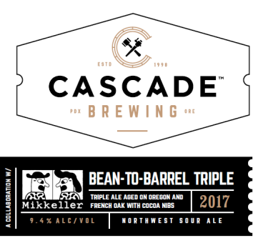 Bean to Barrel label
