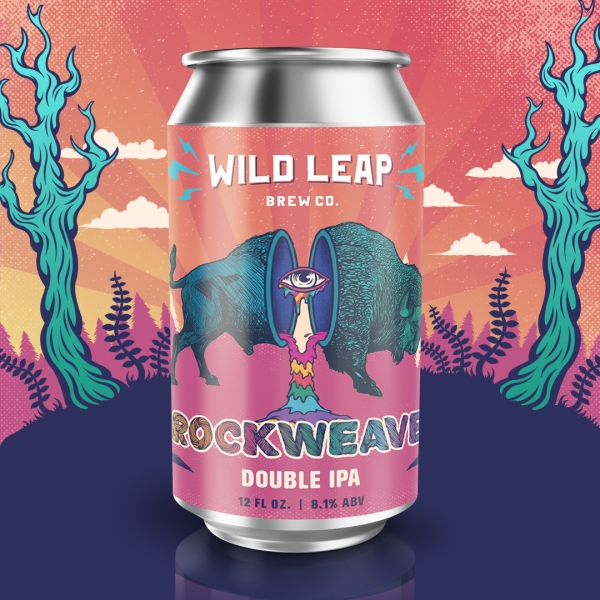 Wild Leap - Rockwevae Double IPA Single Can