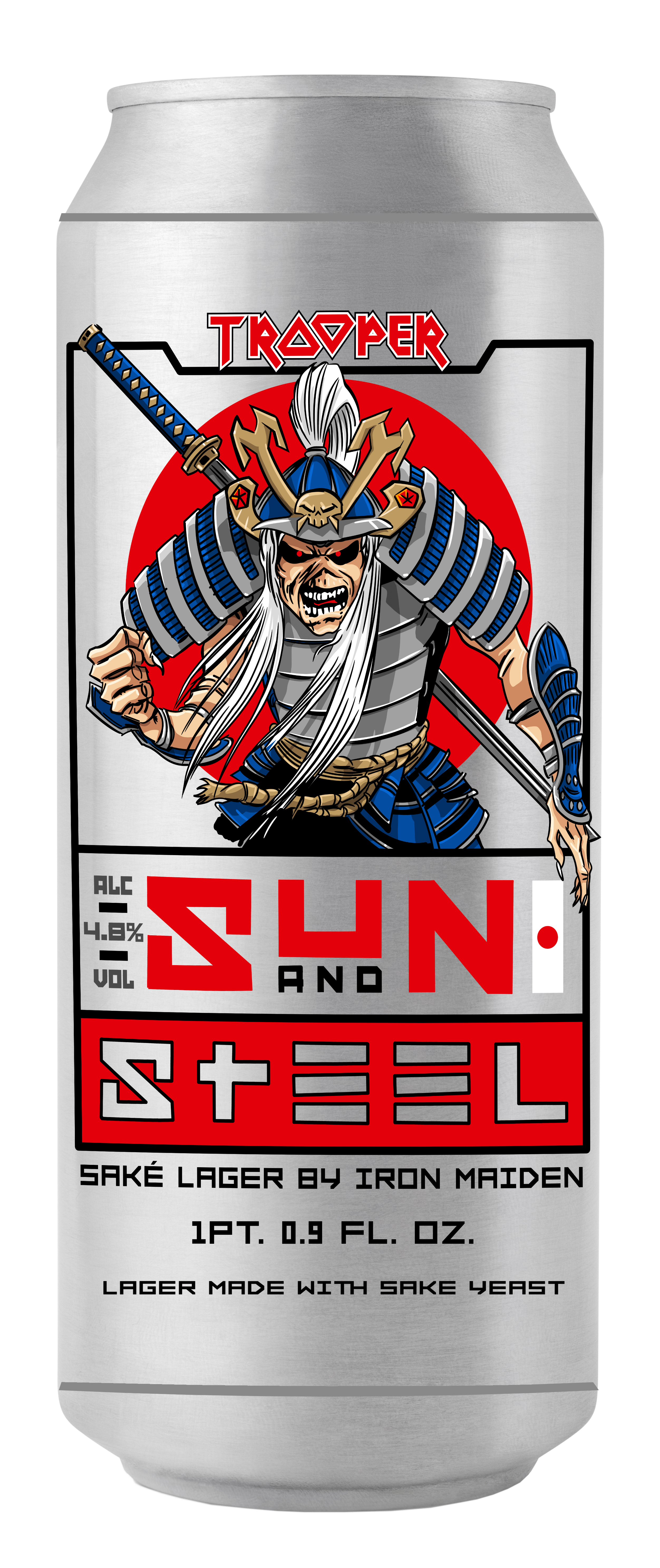TROOPER Sun and Steel Can