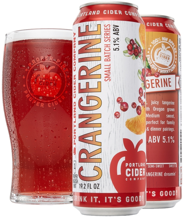 Crangerine pint & 19.2 can