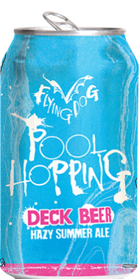 FlyingDogPoolHoppingCan